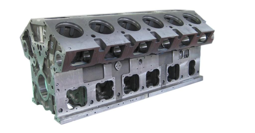 Головка блока цилиндра на спецтехнику